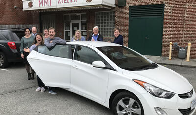 Member One FCU Donates Vehicle to Mill Mountain Theatre