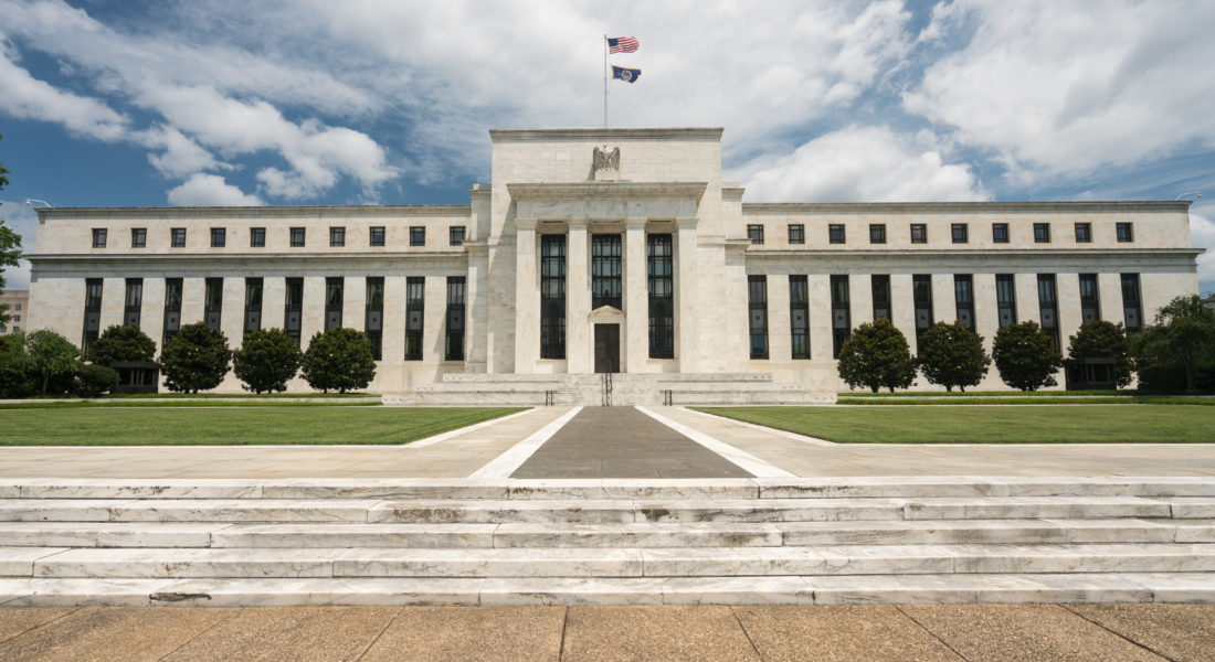 Photo of Federal Reserve building