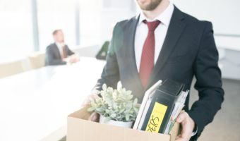 Man Packs Up And Leaves Office After Being Laid Offjpeg